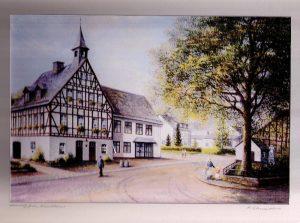 Ölgemälde aus dem Jahr 2000, Kunstmaler Rudolf Schneider, Kirchberg