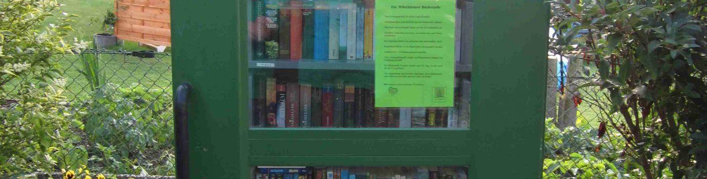 Die Wüschheimer Bücherzelle