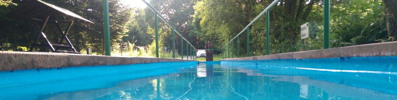 Wassertretbecken nach Kneipp