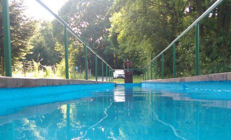 Wassertretbecken wieder in Betrieb