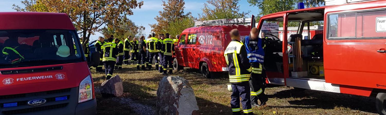 Feuerwehren übten gemeinsam